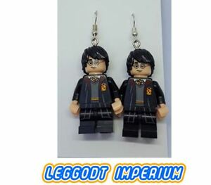 LEGO-Custom-Dangle-Earrings-Harry-Potter-Minifigure-FREE-POST
