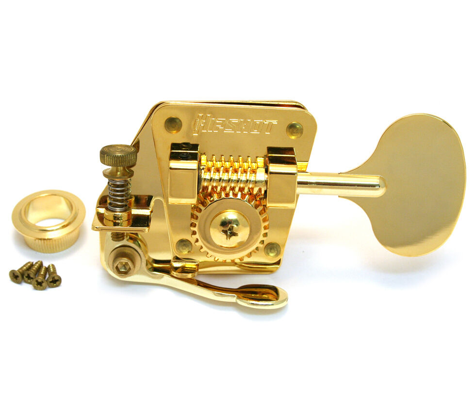 Hipshot BT2 Gold LOLLIPOP Bass Drop D De-tuner X-tender 70s Fender P Jazz®