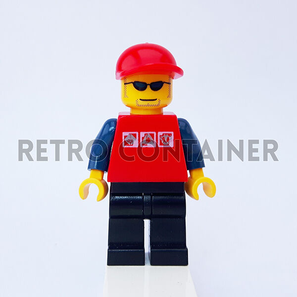 LEGO Minifigures - Town 1x cty175 - Pilot - Vintage Town - Omino Minifig Set 7688 799010