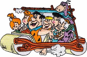"The Flintstones Classic Cartoon Hanna-Barbera 1960s 4.5/"" Iron On #89148 Patch"