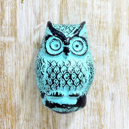 Radanya Victorian Style Light Blue Owl Home Decor Door Knocker Free Shipping