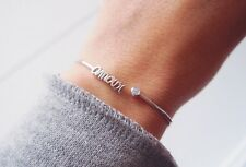 Bracelet, Jonc, amour - Argent 925 - Neuf - Love silver sterling bangle
