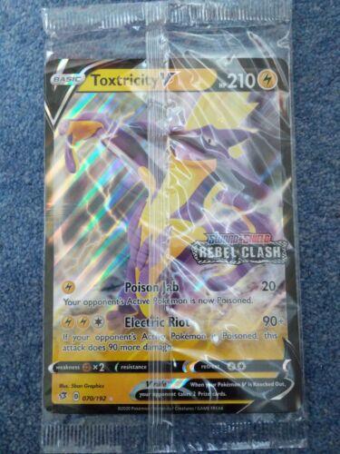 Pokémon Toxtricity V Rebel Clash Jumbo Promo