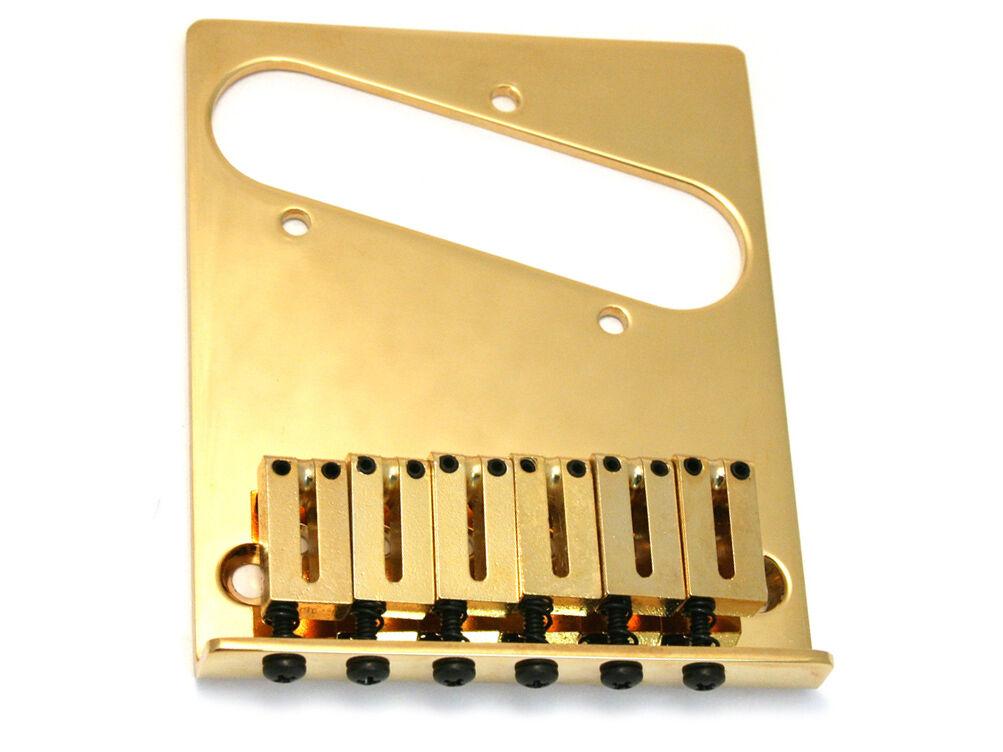 NEW Fender American Series Telecaster Gold BRIDGE for Tele USA 099-0807-200