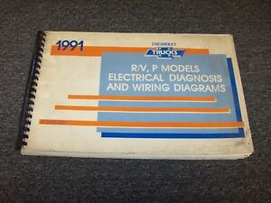 1991 chevy p10 p20 p30 p series truck electrical diagnosis wiring 1966 Chevy Van image is loading 1991 chevy p10 p20 p30 p series truck
