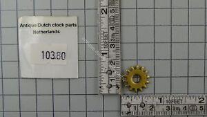 HOUR-PIPE-GEAR-TO-POWER-MOON-DISK-DUTCH-FRIESIAN-TAIL-CLOCK-WARMINK-UW-OR-URG
