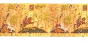 034-Tudor-Friese-034-miniature-wallpaper-Jackson-039-s-Miniatures-dollhouse-1pc-JM69