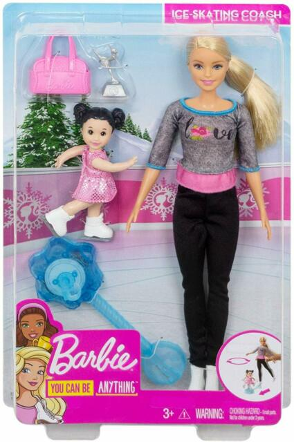Barbie You Can Be Anything - Ice Skating Coach - FXP38