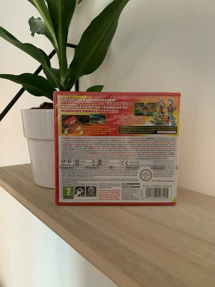 Helt nyt! (indpakket) Pokemon Omega Ruby, Nintendo 3DS