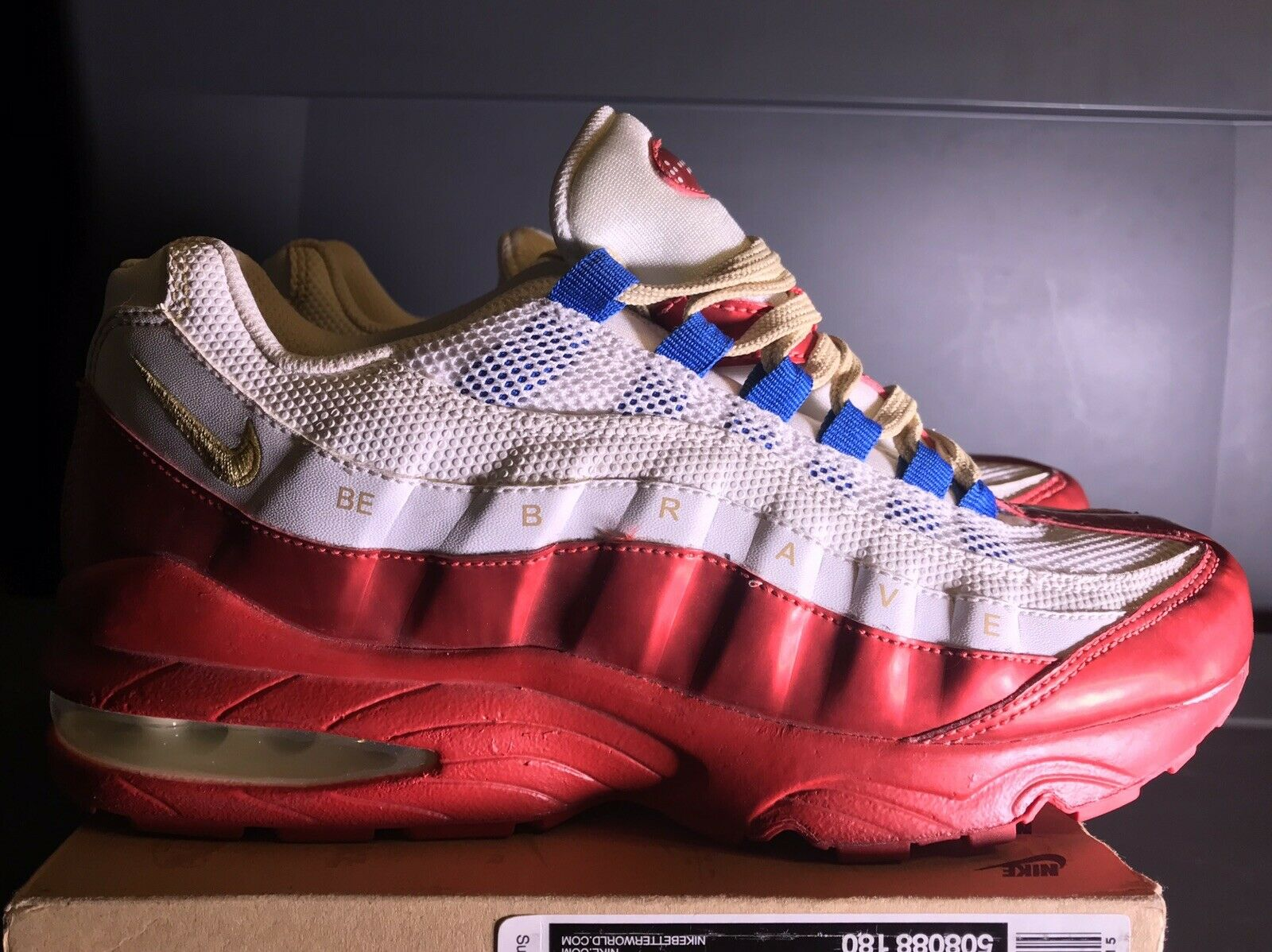 Nike Air Max 95 LE DB Doernbecher Be Brave 2011 Rare (508088-180) Size 6.5y
