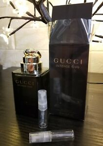 Gucci Intense Oud Edp 2ml 3ml Or 5ml Decant Sample Atomizer