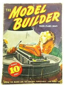Model-Builder-Magazine-March-April-1937-Lionel-Trains-Model-Railroad-Airplanes