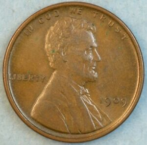 1909-VDB-Lincoln-Wheat-Cent-UNCIRCULATED-UNC-Dark-Brown-FAST-S-amp-H-34046
