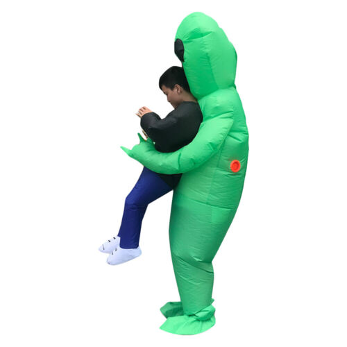 Alien Abduction Inflatable Costume Adult/'s Funny Festive Party Dressing Outfit