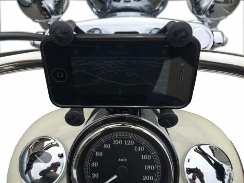 Harley Davidson Low Rider Lenkerklemme RAM Mount Handy Halter f