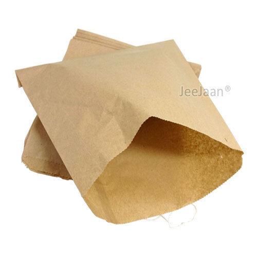 "1000-13/"" X 14/"" Bolsas De Papel Kraft plana Encordada Marrón alimentos comestibles bolsa sándwich"