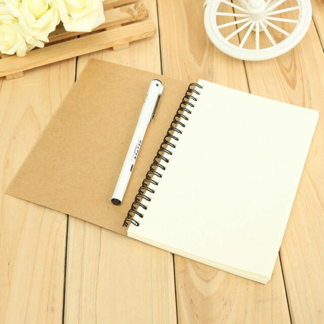 Vintage Kraft Paper Notepad Memo Diary Notebook Exercise Book Journal Hot Sale