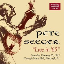 Pete Seeger - Live in 65 [New CD]