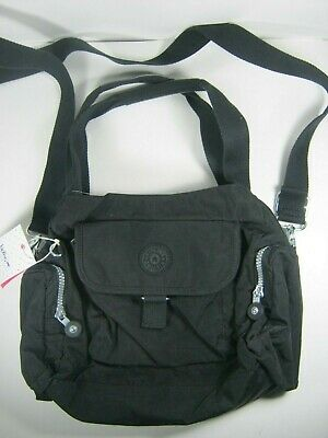 a2232426c41 KIPLING Felix Fairfax LARGE Satchel Crossbody Shoulder Bag HB3711 New NWT  Black