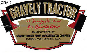 Gravely-Tractor-D-and-L-early-type-decal-gold-red-black-amp-white