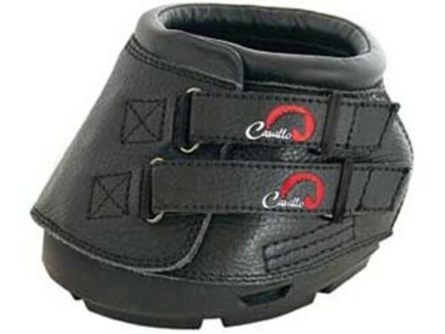 Cavallo Simple Horse Hoof Boots pair with free Hoof Pick
