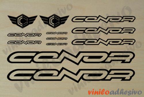 PEGATINA STICKER VINILO Conor perfilado bike autocollant aufkleber adesivi