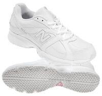 Balance 512 White Walking Nurse Kitchen Work Shoe 10.5 Reg. Non-skid