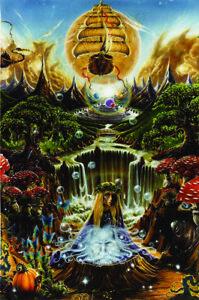 Labrynth-Falls-Fantasy-Art-Poster-24x36