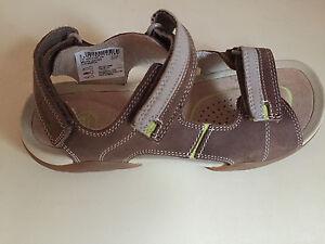 b8f2f413db9e Boys Clarks Mirlo Air Leather JUNIOR Sandals SIZE 13.5   2.5 Brand ...
