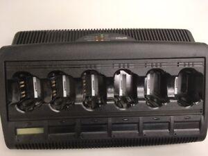 Motorola-WPLN4127AR-6-Unit-IMPRES-Adaptive-Gang-Charger-Battery-Conditioner