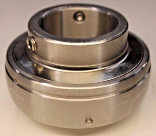 Premium SUC204Stainless Steel Insert Bearing UC204  20mm Bore Re-lube Type
