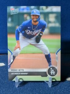 2021 Topps Now Mookie Betts Road to Opening Day #OD-406 Los Angeles Dodgers