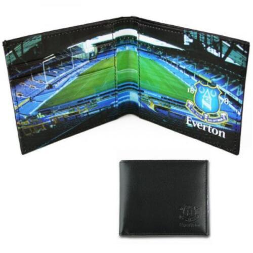 Goodison Park Stadium Portefeuille en cuir EVERTON Football Club Fan Cadeau
