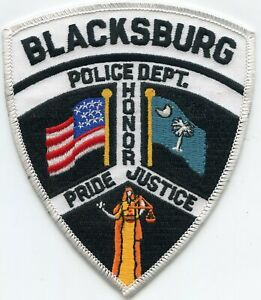 HARDEEVILLE SOUTH CAROLINA SC Low Country Host POLICE PATCH