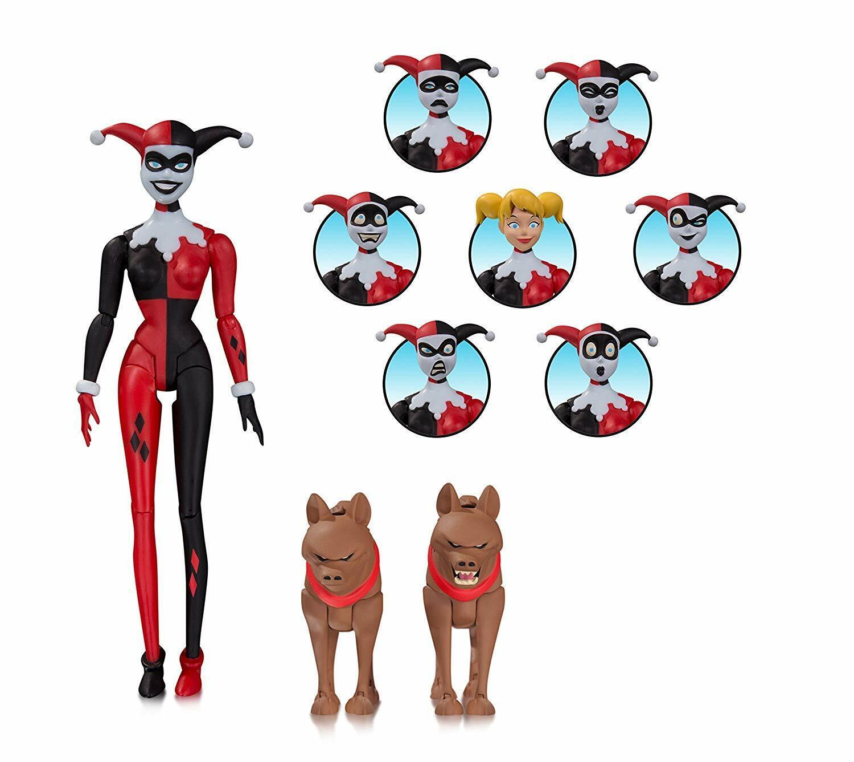Dc Figurine Batuomo The Animated Serie  Harley Quinn Expressions Confezione