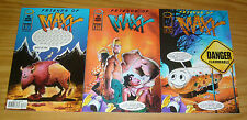 Friends of Maxx #1-3 VF/NM complete series - sam kieth - image comics set lot 2