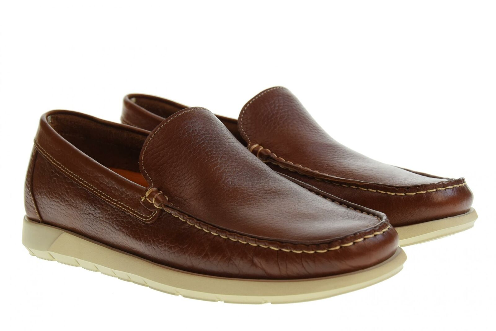 Vallegreen P19u men's shoes moccasins 11865 CUOIO