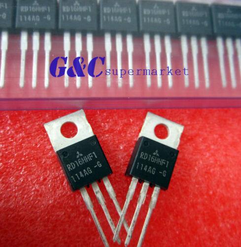2PCS RD16HHF1 TO-220 POWER MOSFET ORIGINAL MITSUBISHI NEW GOOD QUALITY T6