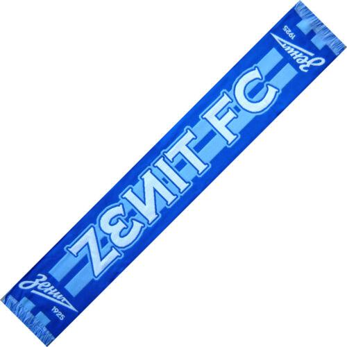 ECHARPE ZENITH SAINT PETERSBOURG Russie scarf schal cachecol sjaal no drapeau