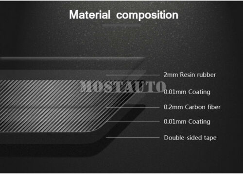 For Benz C Class W205 S205 Carbon Fiber Roof Front Reading Light Cover 2014-2019