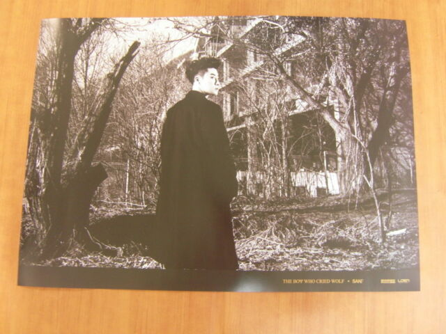 San E - The Boy Who Cried Wolf [OFFICIAL] POSTER K-POP *NEW*