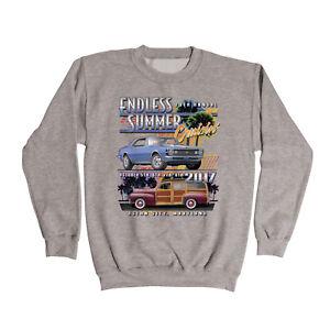 2017-Cruisin-Endless-Summer-official-classic-car-gray-sweatshirt-Ocean-City-MD