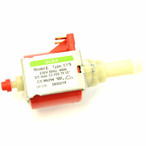 48W.- 230 V 50Hz Ulka Pumpe Wasserpumpe Type EP5 CS M6294 für Kaffeeautomat