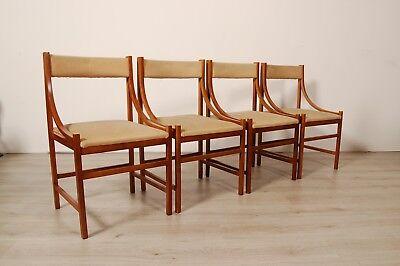 4 sedie design anni 60 modernariato manifattura for Sedie design anni 20