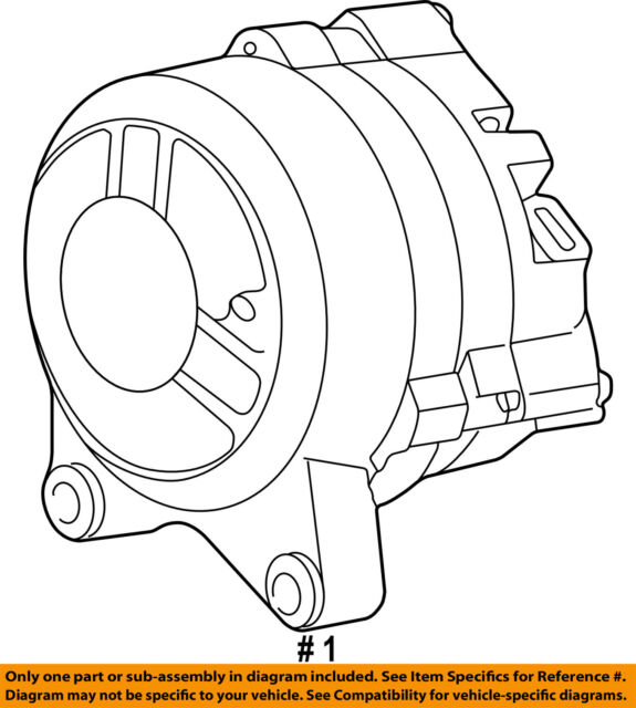 Ford Oem Alternator F6az10346aarm2 Image 1 For Sale Online