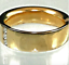 thumbnail 2 - Mens Gold Plated Band Ring Chunky Cubic Zirconia  Accent 8,10,11 Fashion Ring