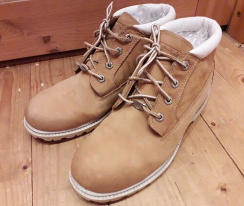 Size 9m Women's nabuk Con Timberland e Boots pennello scamosciato in nzEWt