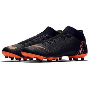 Nike Superfly 6 Academy MG Men s Cleated Soccer Sz 10.5 Black orange Ah7362  081 9a2ea7fec9