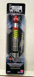 Third-Doctor-Doctor-Who-Sonic-Screwdriver-w-Lights-amp-Sound-MIB-DWTY-SS03