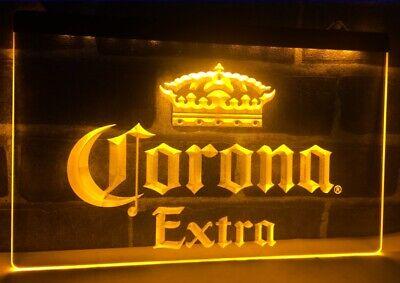 Corona Bar Beer Extra Leuchtreklame Neonzeichen Leuchtschild Leuchte Lampe